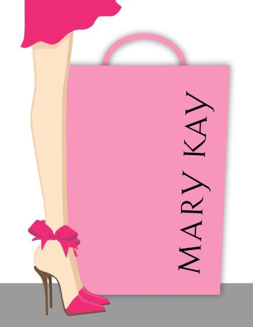 MARY KAY PINK HEELS