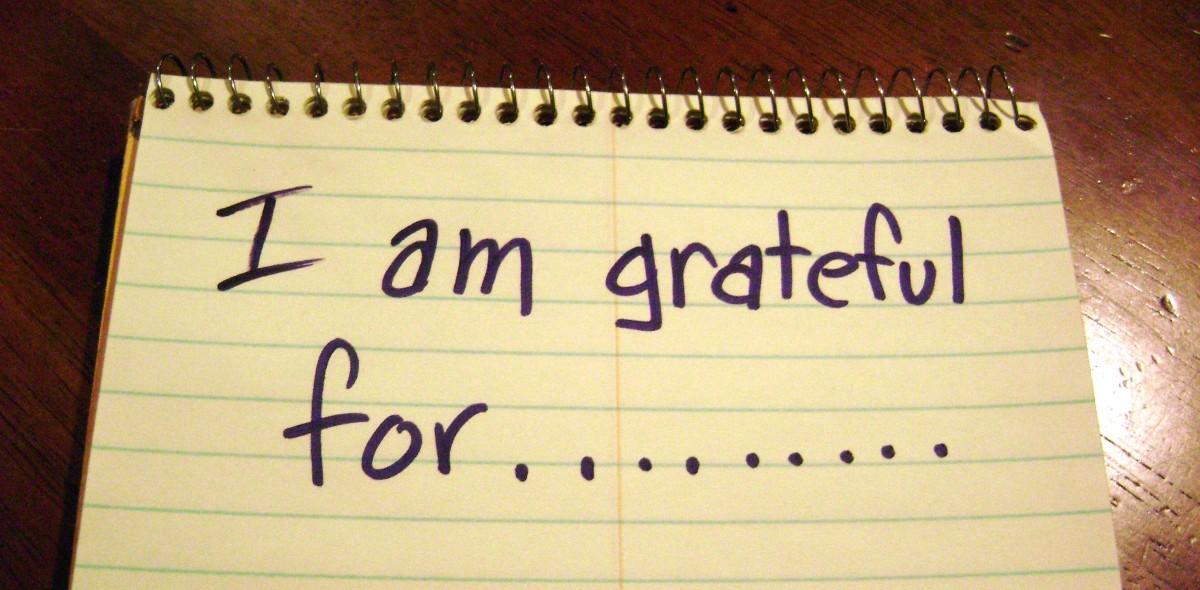I AM GRATEFUL FOR……