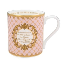 QUEENS 90th PINK MUG