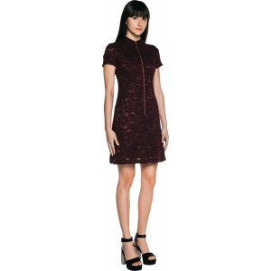 textured-lace-funnel-dress