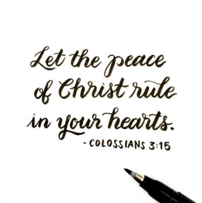 COLOSSIAN 3 15