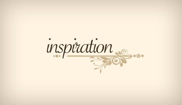 How to find inspiration