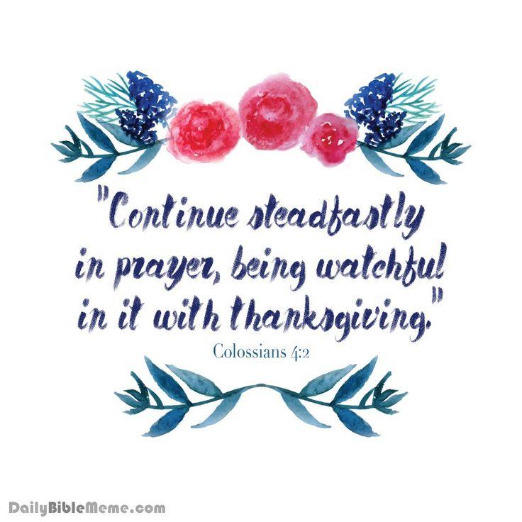 COLOSSIANS PRAYER