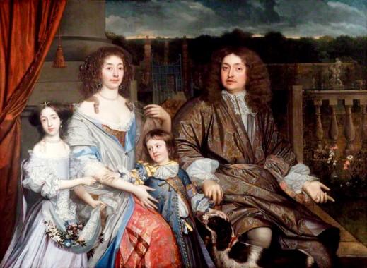 NPG 5568; The Family of Sir Robert Vyner