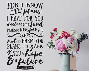 Jeremiah 29-11